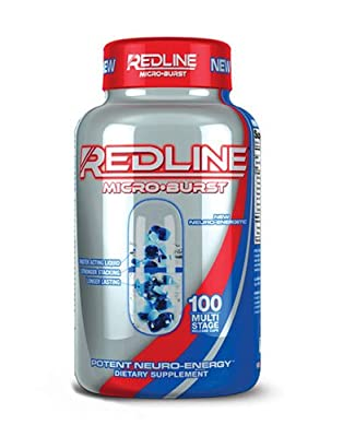 VPX Redline Microburst Multi-Stage Delivery System Thermogenic Fat Burner (100 ct)