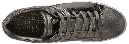 Bugatti 422291015050, Zapatillas para Mujer Marrón (Taupe/ Metallic)