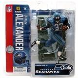 "McFarlane Toys 6"" NFL Series 14 - Shaun Alexander Blue Jersey"