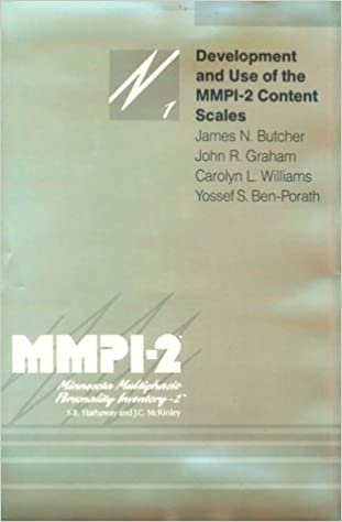 Development and use of the mmpi 2 content scales mmpi 2 development and use of the mmpi 2 content scales mmpi 2 monographs james n butcher john r graham carolyn l williams yossef s ben porath fandeluxe Images