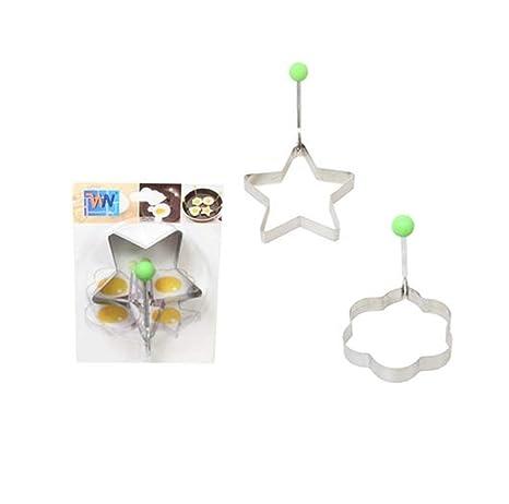 Molde de acero inoxidable con forma de estrella y forma de ...
