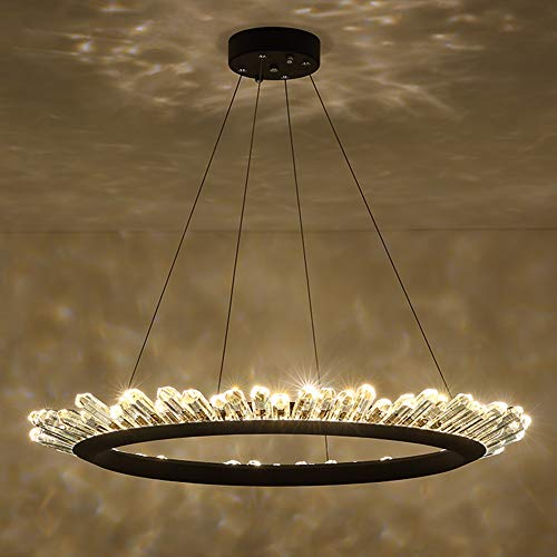 Ceiling Lights Lights & Lighting 40cm-100cm Rings Fashional Modern Led Chandeliers For Living Dining Room Diy Hanging Lighting Circle Rings For Indoor Lighting Demand Exceeding Supply