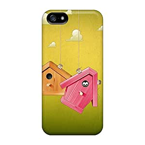 Waterdrop Snap-on Birdhouses Case For Iphone 5/5s
