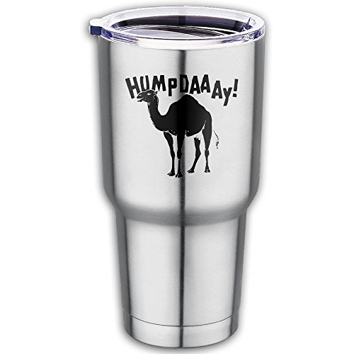 20 OZ Stainless Steel Pint Cups Hump Day Insulated Drinking Thermal Mug With Anti-Splash Lid