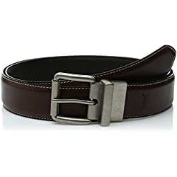 Levi's Men's Big And Tall Brown To Black Reversible Belt,Brown/Black,46