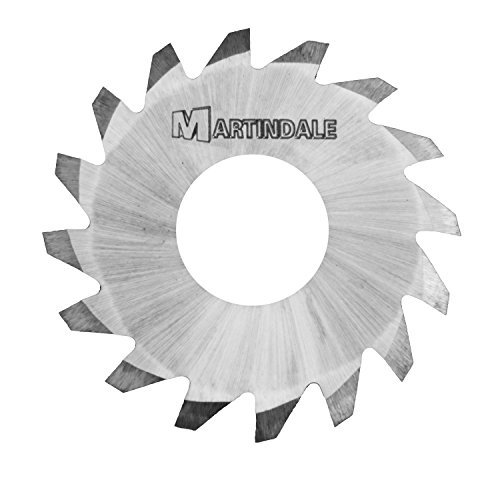 Martindale TUNSV9604840 Tungsten-Carbide Tungsten-Carbide V-Cutters,  1-1/8'' Outer Diameter,  3/8'' Hole Diameter,  0.048'' Thick,  20 Teeth by Martindale Electric