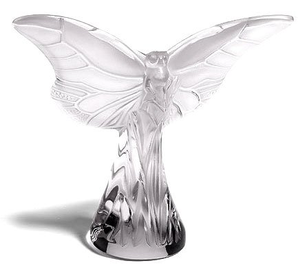Lalique Crystal Clear Butterfly Rosee 12175 ()