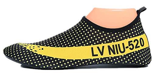 Qiu Yoga Women's Socks Yellow Shoes Men'sand Shoes Diving Beach Beach Shoes Shoes ping Treadmill rU1zr