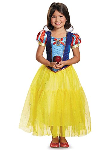 7 White And Costumes Snow Dwarfs (Deluxe Disney Princess Snow White Costume, One Color,)