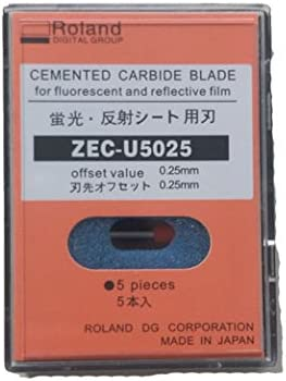 Roland zec-u5025 Plotter Cuchillas: Amazon.es: Electrónica