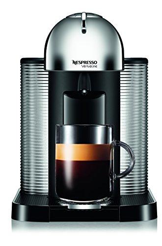 Nespresso A+GCA1-US-CH-NE VertuoLine Coffee and Espresso Maker with Aeroccino Plus