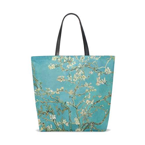 001 Taille Porter Pour À Femme Unique Almond Blossom Sac Tote L'épaule Bennigiry 6vAxUU