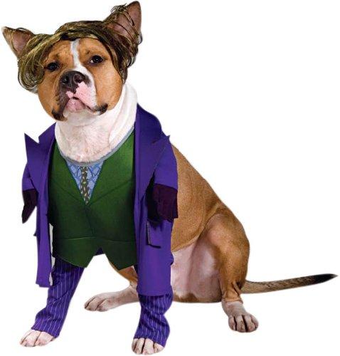 Batman Joker Dog Costume For X-Large (Dark Knight Dog Costumes)
