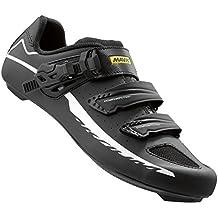 Mavic Aksium Elite II Road Shoes - BLACK/WHITE, 7.5 D(M) US