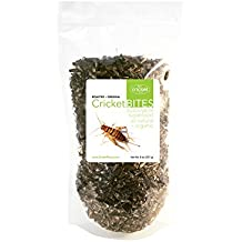 Roasted Crickets (1/2lb) Dried Crickets Raised in North America and Made in Portland, Oregon (Resealable Pack)