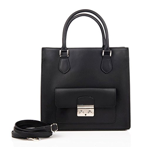 Black Another 71062 Woman For Handtas Leather myitalianbag wqBx0YOC