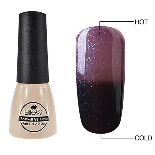 Elite99 Thermal Temperature Color Changing Gel Polish Soak O