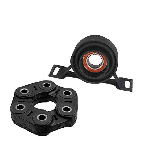 - Drive Shaft Flex Disc + Driveshaft Center Support Bearing Kit 2 for BMW E36 E39