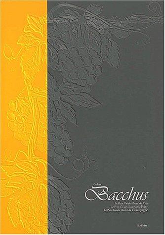 Bacchus Coffret 3 volumes : Le petit guide illustré du Champagne. Le petit guide illustré de la Bière. Le petit guide illustré du Vin