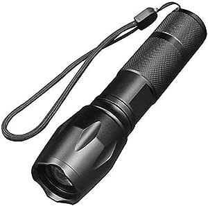 Yadianna Flashlight,Multi-Function Waterproof Telescopic Field USB Searchlight for Daily Use Handheld Flashlights Super Brightness Emergency Outdoor Recreation