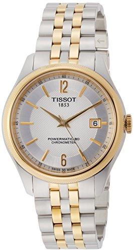 [ティソ]TISSOT バラード オートマティック COSC パワーマティック80 ホワイトカラー文字盤 ブレスレット T1084082203700 メンズ