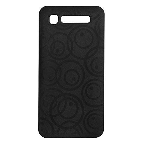 ACM Multi Color Soft Silicon Back Case Compatible with Intex Aqua Y2 Pro Mobile Cover Black Round Designer