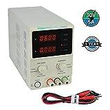 KORAD KD3005D - Precision Variable Adjustable 30V, 5A DC Linear Power Supply Digital Regulated Lab Grade