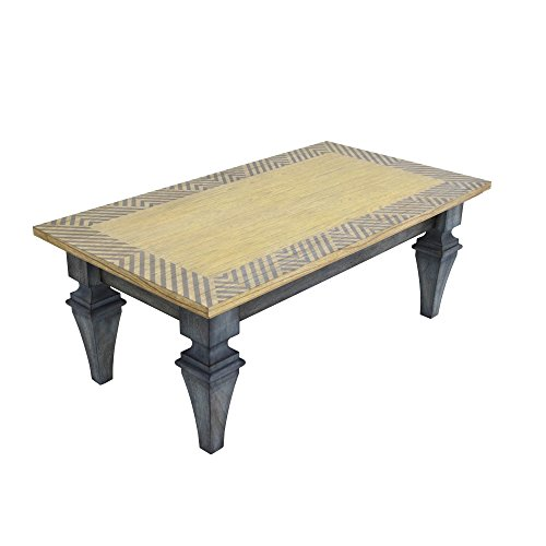 222 Fifth 7020GY040AVH52 Rue Montemarte Patina Vie Montmartre Coffee Table - Pts Coffee