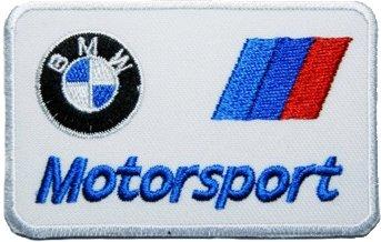 BMW Motorsport M-Tech Écusson brodé thermocollant ou à coudre 9 cm ... 085c97e8af2