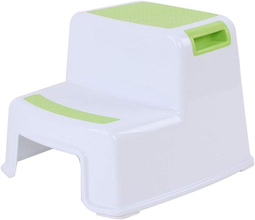 Toilet Potty Training Kids 2 Step Stools Toddler Non-Slip Bathroom Potty Stool yangGradel Potty Toilet Seat