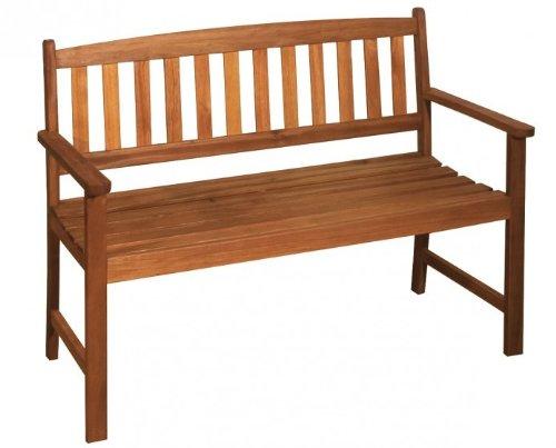Gartenbank 2-Sitzer Eukalyptus FSC - Holz geölt