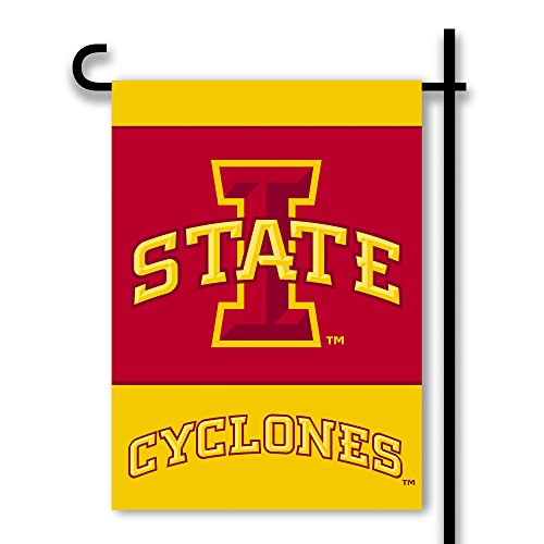 NCAA Iowa State Cyclones 2-Sided Garden Flag (Iowa State Cyclones Gift)