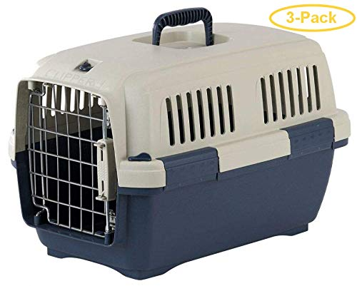 Marchioro Clipper Cayman Dog Kennel - Blue Cayman 1 - Pets 7-22 lbs - (19.5