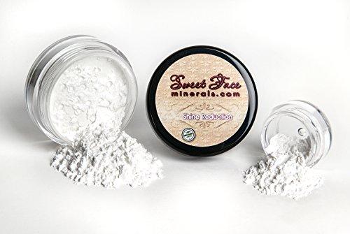SHINE REDUCTION POWDERChoose your Size Corrector Mineral Makeup Bare Oily Skin Concealer Sheer Loose Powder Full Coverage (20 gram Sifter Jar)