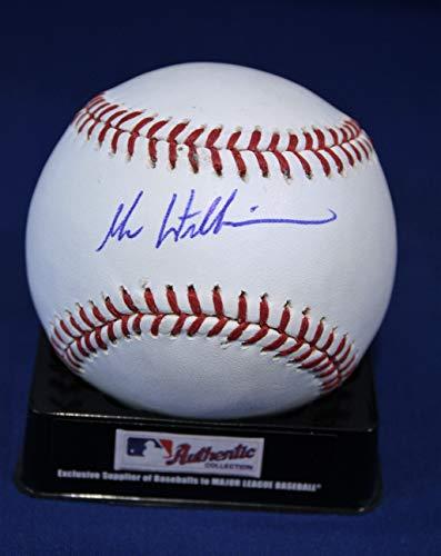 Autographed Mac Williamson Official Rawlings Major League Baseball with COA