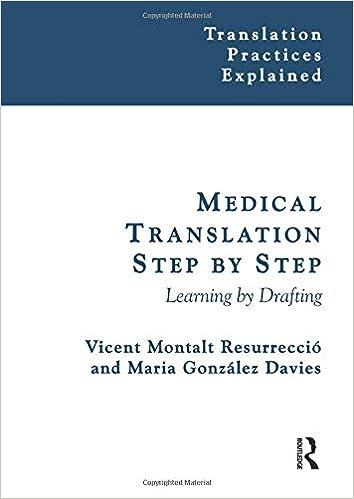 Medical Translation Step by Step (Translation Practices Explained):  9781900650830: Medicine & Health Science Books @ Amazon.com