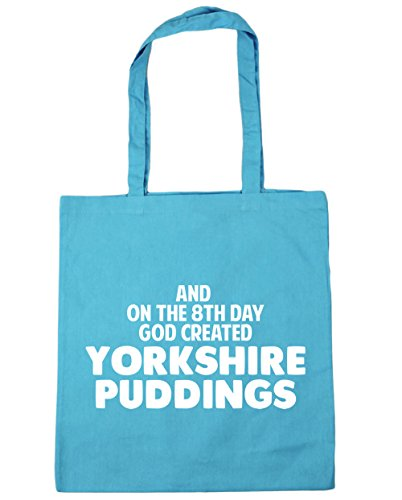 puddings 42cm 8th Tote on Beach Bag Blue God Yorkshire 10 HippoWarehouse created day Surf the x38cm litres Shopping And Gym 86tqF