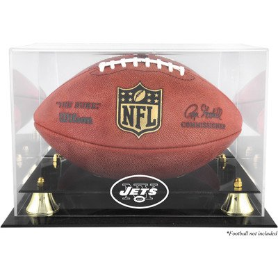 NFL Classic Football Logo Display Case NFL Team: New York
