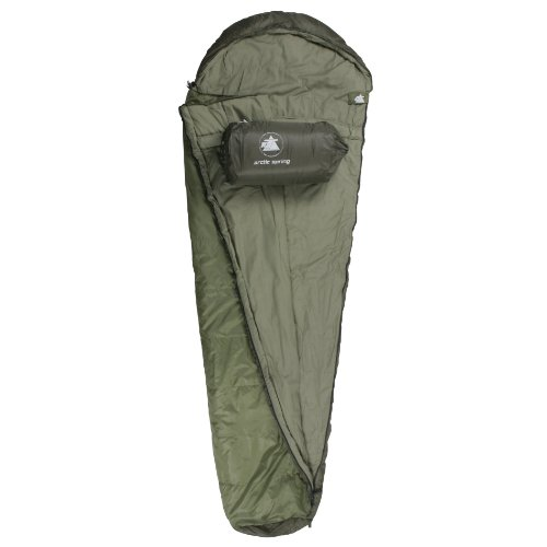 10T Mummy sleeping bag ARCTIC SPRING up to -16°C 1700g