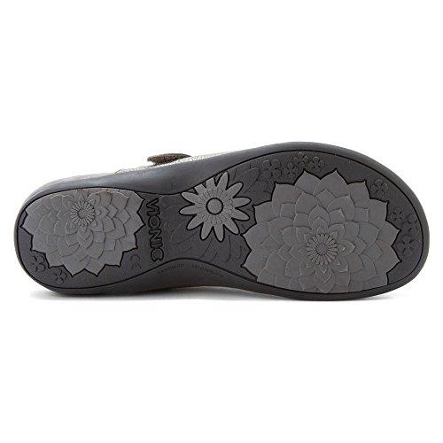 Orthaheel - Zuecos para mujer gris - Pewter Metallic