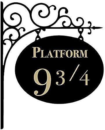 Harry Potter Hogwarts platform 9 3//4 Decal Vinyl Car Window Sticker  ANY SIZE