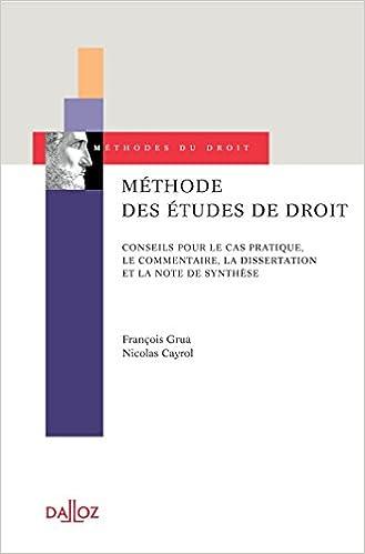 Dissertation histoire du droit mthode