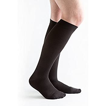 Actifi Mens 20-30 mmHg Compression Closed Toe Dress Socks