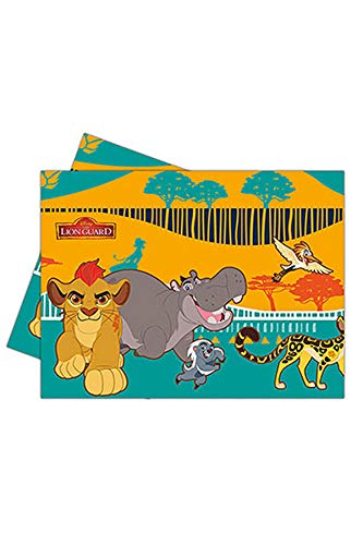 Plastic Disney Lion Guard Tablecloth, 1.8m x 1.2m -