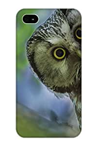Design High Impact Dirt/shock Proof Case Cover For Iphone 4/4s (animal Owl)