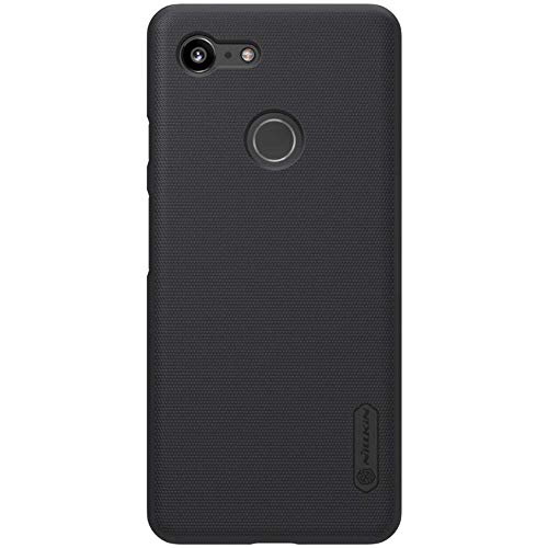 Nillkin Frosted Ultra Thin Shielded Hard Plastic Back Cover with Grip for Google Pixel 3 XL  6.3 inch, Black