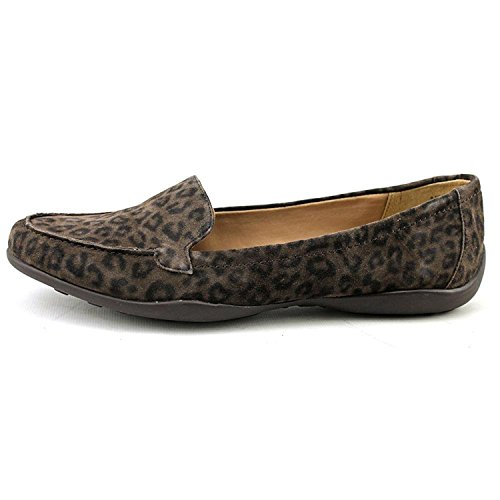Easy Spirit Womens Jeyden Leather Closed Toe Casual, Brown/Multi Suede, Size 5.5 (Suede Footwear Brown Multi)