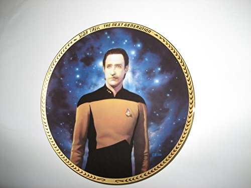 Lieutenant Commander Data Star Trek, The Next Generation Collector Plate