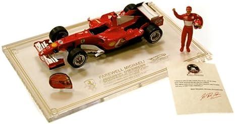 2006 Ferrari Schumacher S Last Race Car Die Cast Model