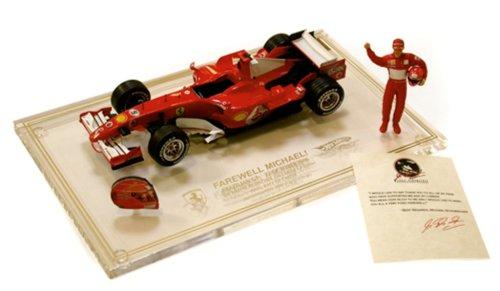 2006 Ferrari Schumacher's Last Race Car Die Cast Model - - Ferrari Last